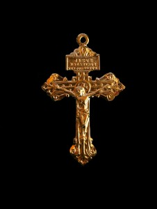 Gold Pardon Crucifix