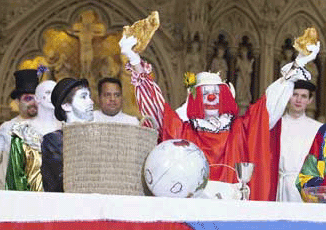 clown mass